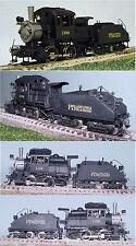 Philadelphia & Reading 1180 A-5a  0-4-0 Camel Steam Gem Brass HO CP [775]