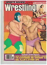 Flair sports review Wrestling Magazine WWF ladies apartment NWA Funk 1976 Brisco