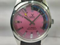 Vintage Camy Mechanical Handwinding Movement Mens Wrist Watch OG79 F