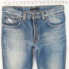 Mens Nudie SLIM JIM Slim Straight Blue Jeans W32 L34