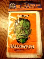 Halloween Universal Studios Monsters Pack of 50 Small Treat Sacks