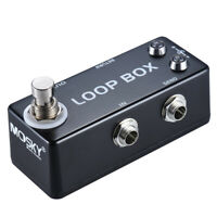 Mosky LOOP BOX Guitar Effect Pedal Looper Effect Route Selection True Bypass