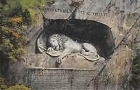 B106187 Switzerland Luzern Loewendenkmal Lion Statue Monument