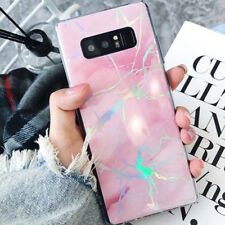 for Samsung Galaxy S9 S8 Plus Note 8 Cute Marble Slim Tpu Shockproof Case Cover