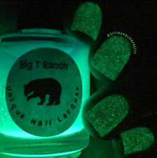 Glow-in-the-Dark Nail Polish Top Coat Blue to Green - Free Shipping