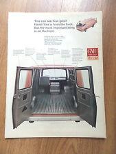 1966 GMC Trucks Ad    Handi-Van