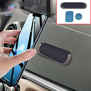 Magnet Mount Accessories Strip Shape Magnetic Car Phone Holder Stand For iPhone