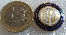 Distintivo calcio INTER badge pin XXL Internazionale Milano no piedino RARO