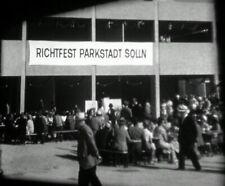 Bau der Parkstadt München-Solln, Richtfest, Politikeransprachen. 16mm Neg.+ Pos.