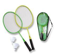 Badmintonset Matchmaker Junior Schläger Kinder Badminton Set Federball sunflex
