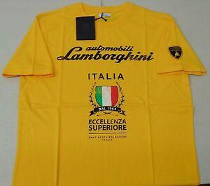 Lamborghini Empire Yellow Eccellenza Superiore T-Shirt OEM # 9011121CCY034
