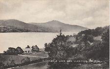 Bala Lake & Llan Y Cil Church, BALA, Merionethshire