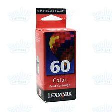 Genuine Lexmark 60 Color Ink Cartridge Z32 Z12 Z22 Compaq IJ600 - Retail Box