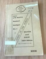 Reprint JW Scott's Standard Catalogue from 1916 Coins of the World