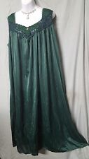 SWEET AND SEXY DARK GREEN ANKLE LENGTH BABYDOLL NIGHTGOWN WOMEN PLUS SZ 3X GIFT