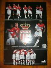 Ancienne AFFICHE 40x60 ASMFC MONACO PUMA 2002-2003 Football Poster Maillot ASM