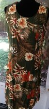 Traditions Size Large Dress Sleeveless Tieback Machine. Washable 40 in Bust