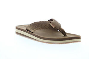 Tommy Bahama Galloway TB20M10056 Mens Brown Flip-Flops Sandals Shoes