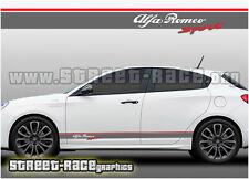 Alfa Romeo 002 Sport racing stripes graphics stickers decals Giulietta Spark etc