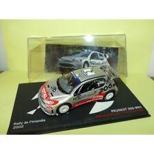 PEUGEOT 206 WRC RALLYE DE FINLANDE 2002 M. GRONHOLM ALTAYA 1:43 4ème