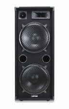 "Max 2x Dual 12"" PA Speakers Disco Party Sound System DJ Amplifier 2000W"