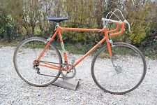 Vélo de course ancien MOTOCONFORT orange années 70