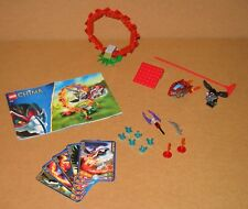 70100 LEGO Chima Ring of Fire – 100% Complete w Instructions EX COND 2013