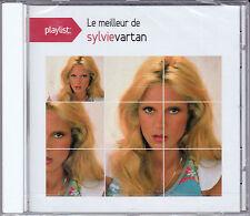 CD 15 TITRES PLAYLIST LE MEILLEUR DE SYLVIE VARTAN BEST OF 2015 NEUF SCELLE