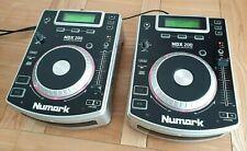 Numark NDX200 Pair - Professional Tabletop DJ Anti-Shock CD Player w/ Fader