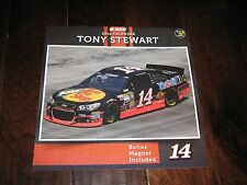 Tony Stewart 2014 Nascar Wall Calendar – New