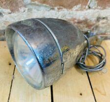 Vintage Miller & Co Ltd Front Bike Dynamo Generator Light w/Clamp ~Great Britain
