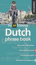 AA Essential Dutch Phrase Book (AA Essential Phrase Book), , Good Condition Book