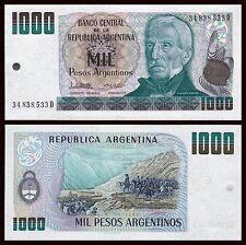 Argentina - 1000 Pesos ND 1983-1985 Pick 317b  SC = UNC