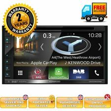 "Kenwood DNX5190DABS 6.8"" GPS Bluetooth DAB Radio Apple CarPlay Android Auto"