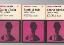 Denis Mack Smith , Storia d'Italia 1861-1969 , 3 volumi Laterza 1970  R