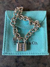 Authentic Tiffany Padlock Bracelet
