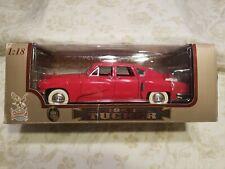Road Legends 1948 Tucker Torpedo 1:18 Scale Die Cast Metal Model Car Red