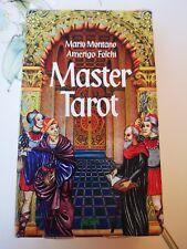 Master Tarot- 1996 OOP RARE HTF English Version by Mario Montano