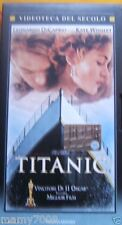 VHS=Titanic (1997) VHS=VIDEOTECA DEL SECOLO
