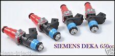 Toyota Celica Lotus exige 1zz 2zz vvti Gt-S turbo Siemens 650cc Fuel Injectors