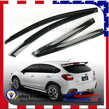 JDM OE Fit Subaru XV/Impreza WAGON 12-16 Window Visors Vent Sun Rain Wind Shade