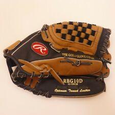 "Rawlings RBG10D 13"" Gold Glove Basket - Web  Leather RHT Baseball Glove UEC"