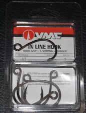 VMC ILS-50 In Line Hook Size 5/0 -  5 Pack Wide Gap X Strong Replacement Hooks