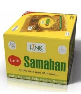 Link Samahan Instant Ayurveda Herbal Tea 100 Sachets Cough & Cold  UK SELLER