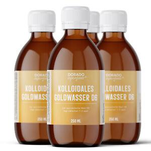 kolloidales Gold Goldwasser 1000 ml D6 - oro colloidale