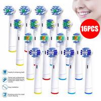 16Pcs Testine ricambio spazzolino elettrico per Braun Oral B EB-50A, EB-25A...