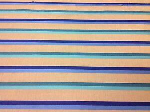 Sunbrella/Silver State OUTDOOR Fabric- Festival Stripe/Deep Sea- 3.25 yd (41436)