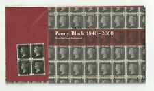 New listing 2000 Penny Black~ Reproduction Stamps(4) by Royal Mail~ Presentation Pack