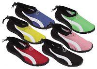 New Kids childrens Boys Girls Slip On Water Shoes/Aqua Socks/Pool Beach,6 Colors