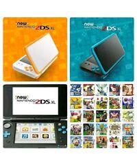 NEW Nintendo 2DS XL + GARANZIA 2 ANNI + 70 GIOCHI 3DS + 140 GIOCHI SNES